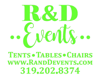 R & D Events rents for graduation parties