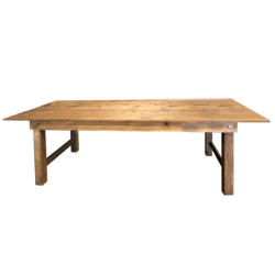 rustic barnwood table