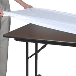 Elastic vinyl table covers